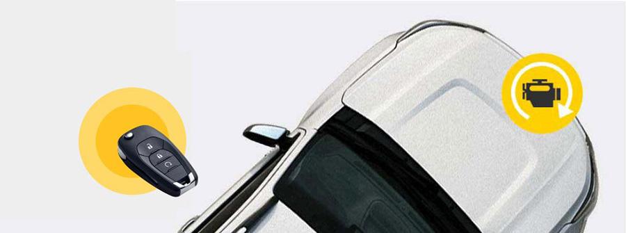 Khởi động Trailblazer từ xa chỉ bằng một nút bấm trên chìa khóa điện tử