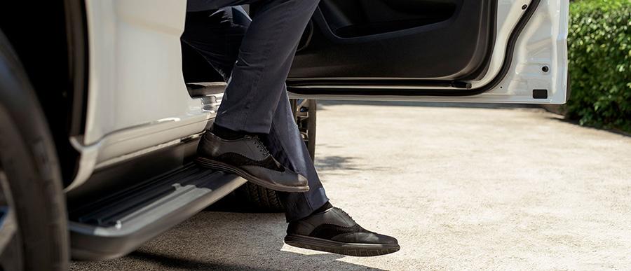 Khoang xe dễ dàng mở rộng nhờ hàng ghế sau có thể xếp gọn phẳng sàn.