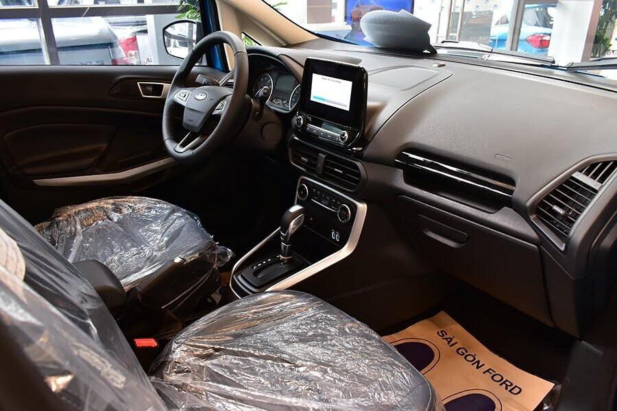 Ecosport khá rộng rãi so với tiêu chuẩn của một chiếc SUV đô thị