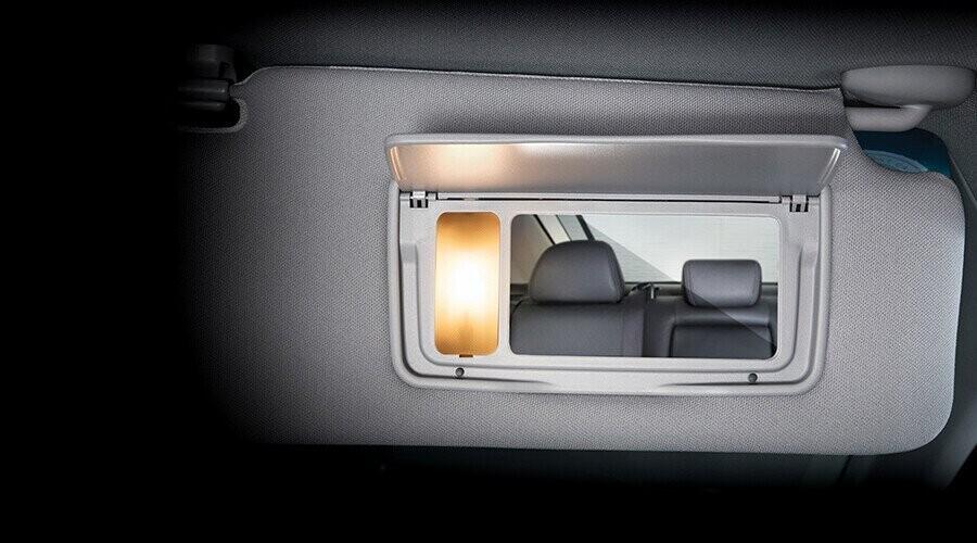 Gương trang điểm tích hợp đèn chiếu sáng