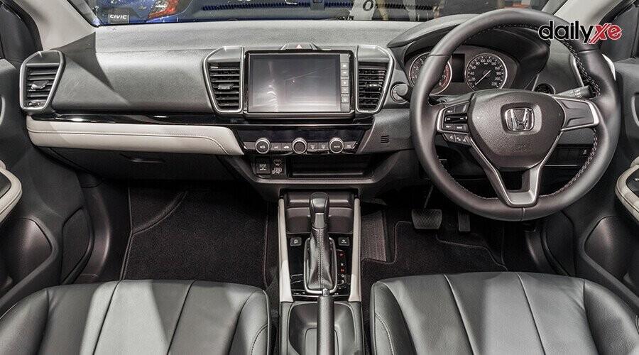 Bảng taplo của Honda City có thiết kế tiện dụng