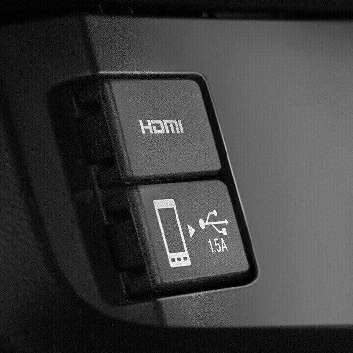 Có trang bị Bluetooth và cổng kết nối USB