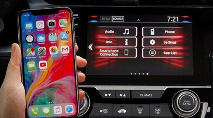 Kết nối điện thoại thông minh điều khiển
