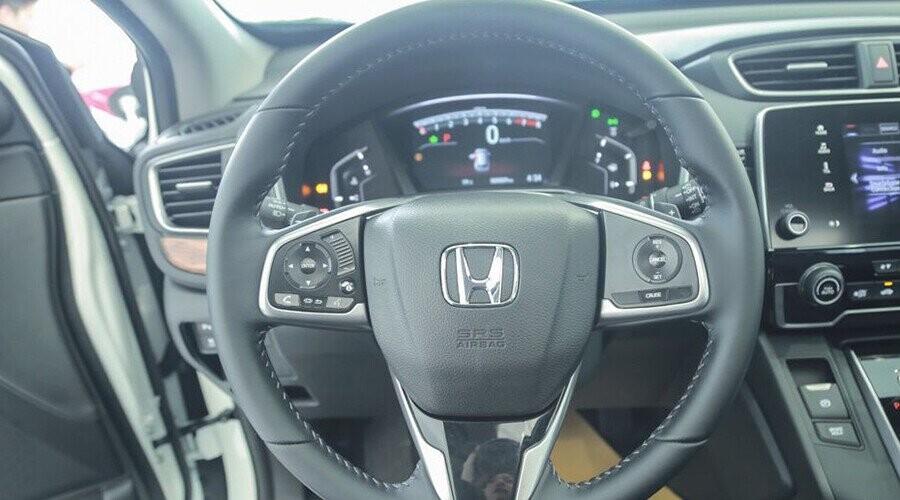 Vô lăng CR-V bọc da cao cấp