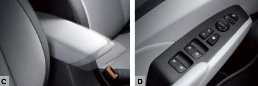 Nội thất Hyundai Accent 1.4 AT Đặc Biệt - Hình 11