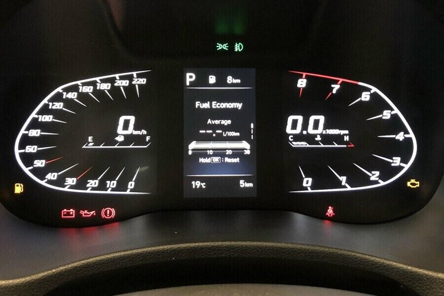 Đồng hồ kĩ thuật số hiển thị sắc nét
