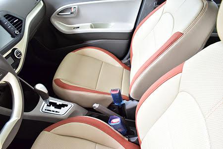 Ghế lái và ghế phụ chỉnh tay