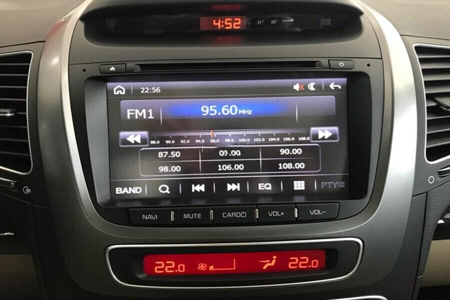 Hệ thống điều khiển thông tin màn hình cảm ứng DVD tích hợp kết nối thiết bị ngoại vị thông minh quan bluetooth