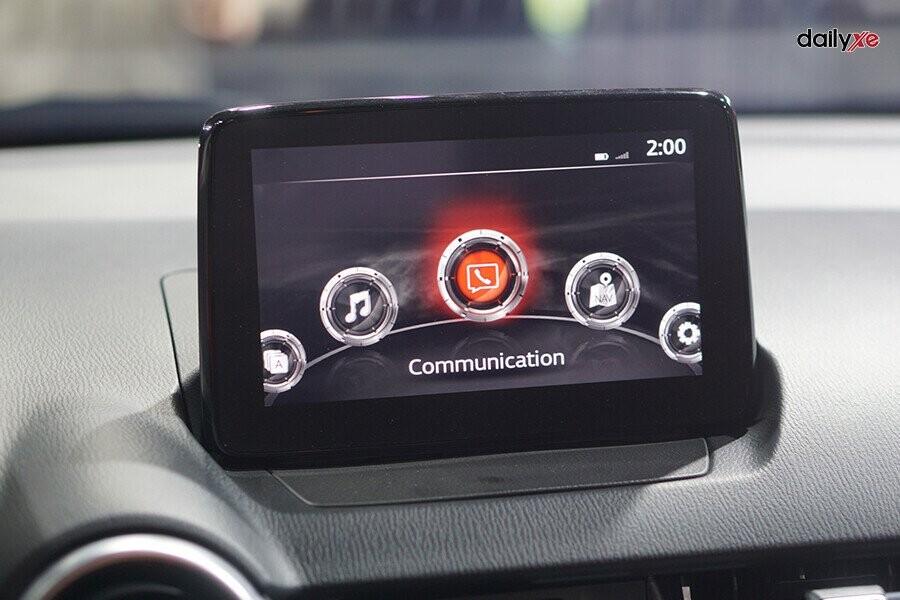 Màn hình giải trí của xe kích thước 7 inch