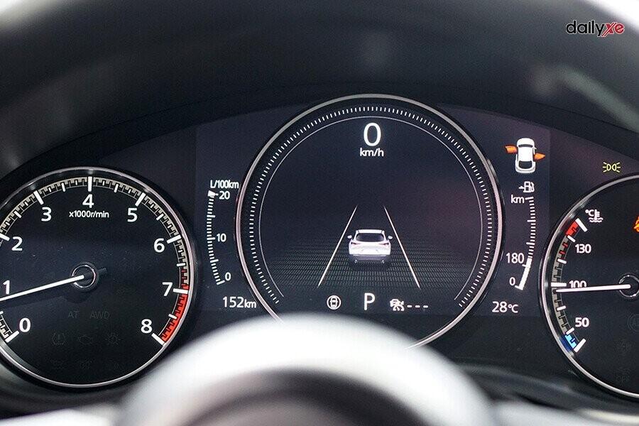 Cụm đồng hồ lái hiện thị đa thông tin