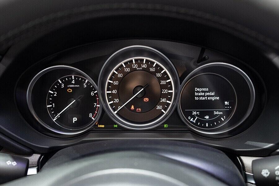 Cụm đồng hồ hiện thị đa thông tin