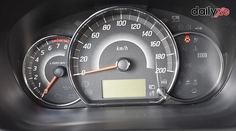 Màn hình sẽ cung cấp các thông tin hữu ích cho người lái