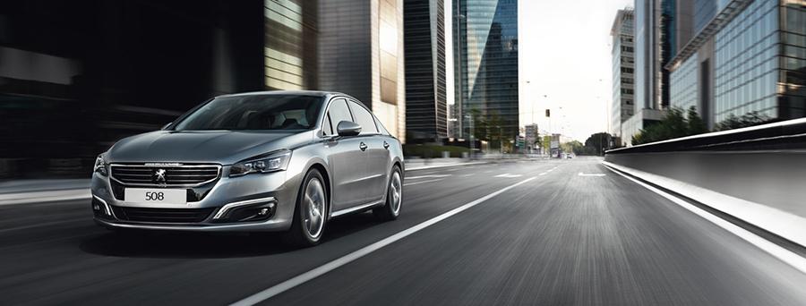 Peugeot 508 trang bị công nghệ Start & Stop