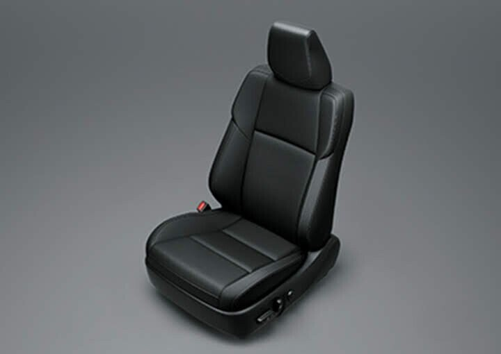 Ghế ngồi được bọc da sang trọng
