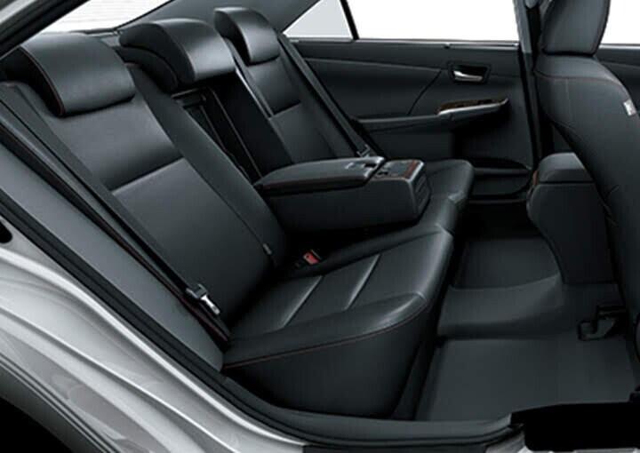 Chức  năng ngả ghế điều chỉnh điện ở hàng ghế sau