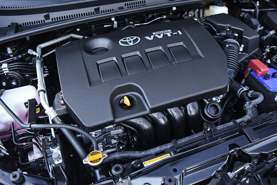 Động cơ Dual VVT-I, 1.8L mạnh mẽ
