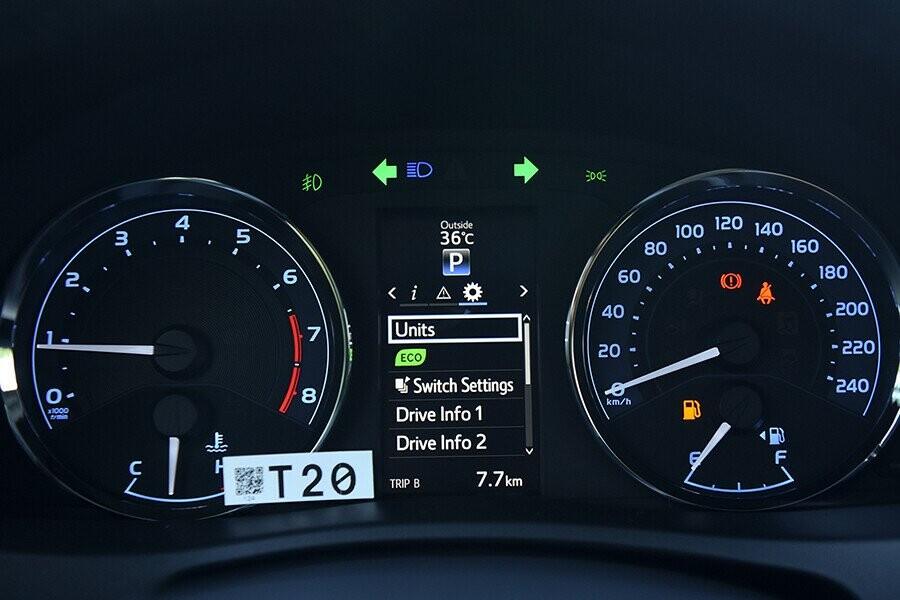 Đồng hồ tốc độ kỹ thuật
