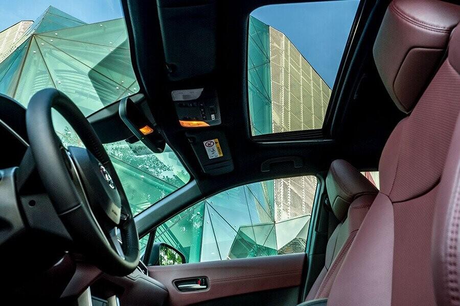 Xe trang bị cửa sổ trời