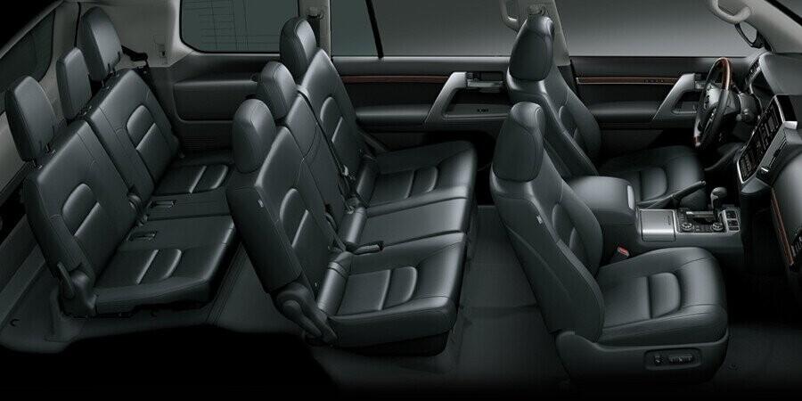 Nội thất Toyota Land Cruiser - Hình 1