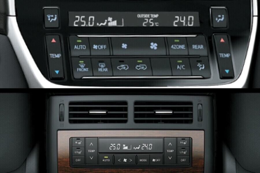 Nội thất Toyota Land Cruiser - Hình 5