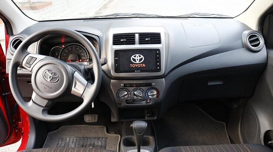 Toyota Wigo với thiết kế sang trọng