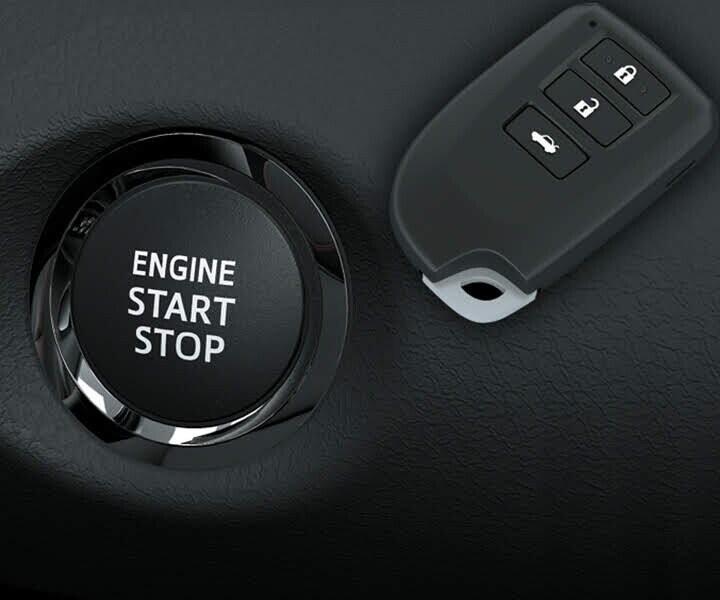 Hệ thống mở khóa thông minh và khởi động bằng nút bấm được trang bị trên phiên bản g tạo sự tiện lợi cho chủ sở hữu khi ra/vào xe