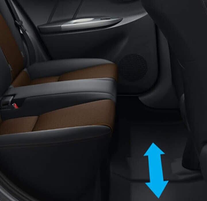 Sàn phía sau phẳng giúp hành khách cảm thấy dễ chịu