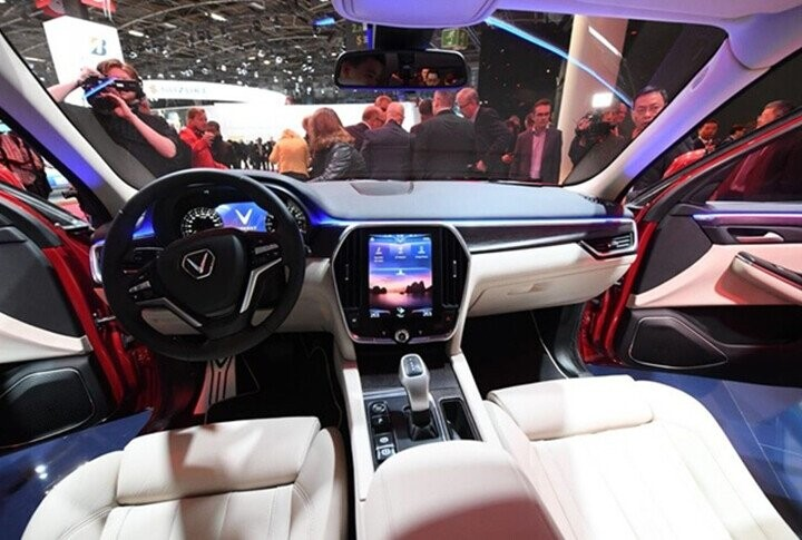 Nội thất xe mang phong cách thiết kế thời thượng