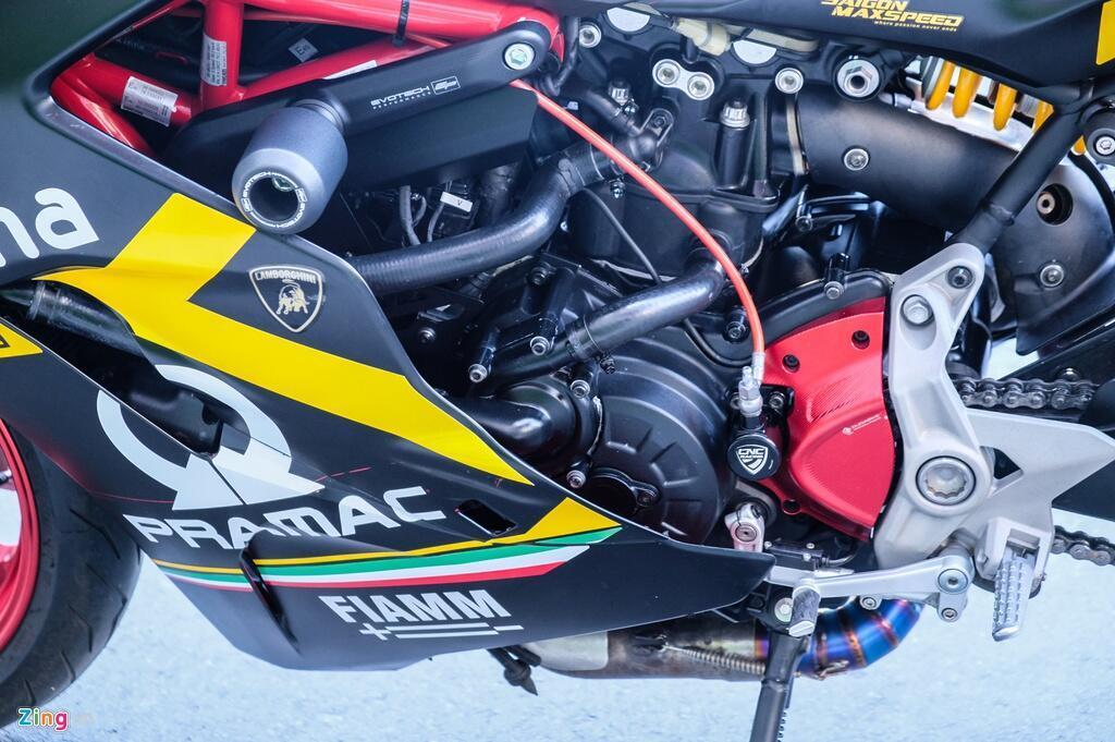 Nu biker TP.HCM chi 150 trieu de lot xac Ducati SuperSport S hinh anh 11 DSCF1626_zing.jpg