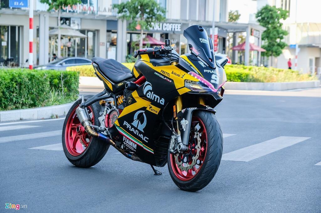 Nu biker TP.HCM chi 150 trieu de lot xac Ducati SuperSport S hinh anh 6 DSCF1590_zing.jpg