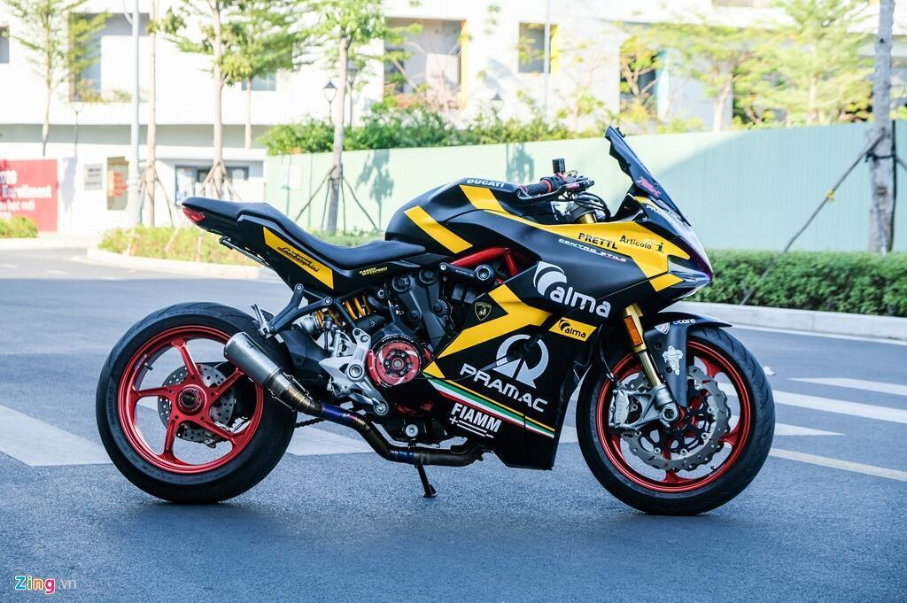Nu biker TP.HCM chi 150 trieu de lot xac Ducati SuperSport S hinh anh 2 DSCF1588_zing.jpg