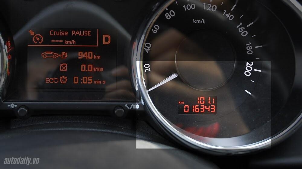 Peugeot 3008 đi 100km hết 6,5L xăng - Hình 14
