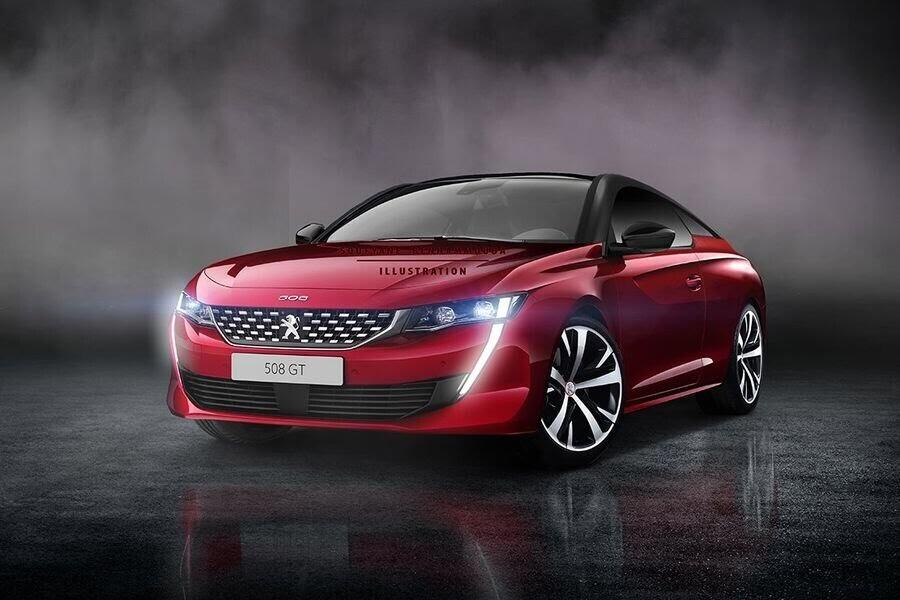 Peugeot 508 hoàn toàn mới sẽ có diện mạo không cách biệt quá lớn với bản concept - Hình 1