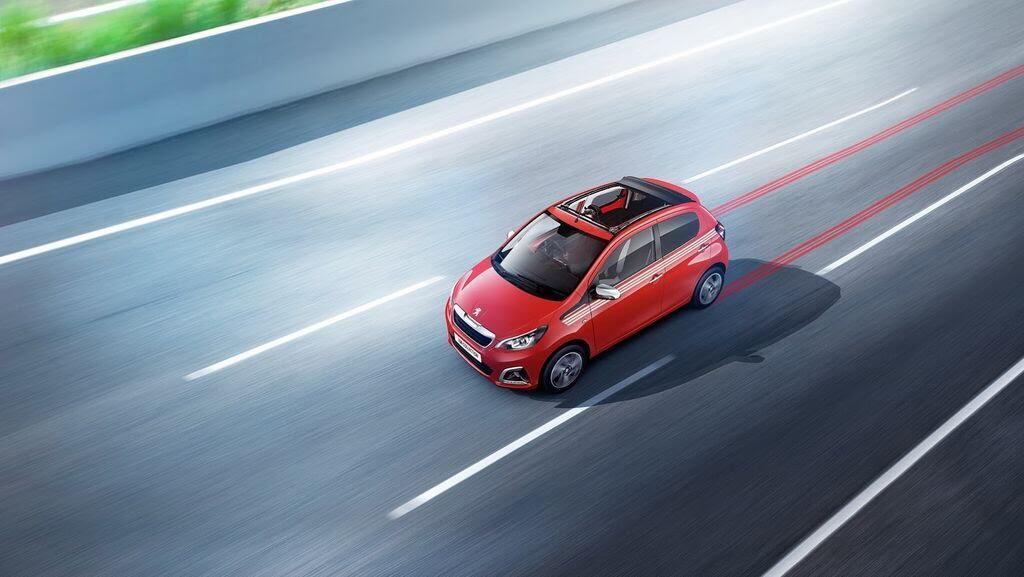 Peugeot bổ sung các phiên bản mới cho dòng 108, giá bán từ 359 triệu VNĐ - Hình 5