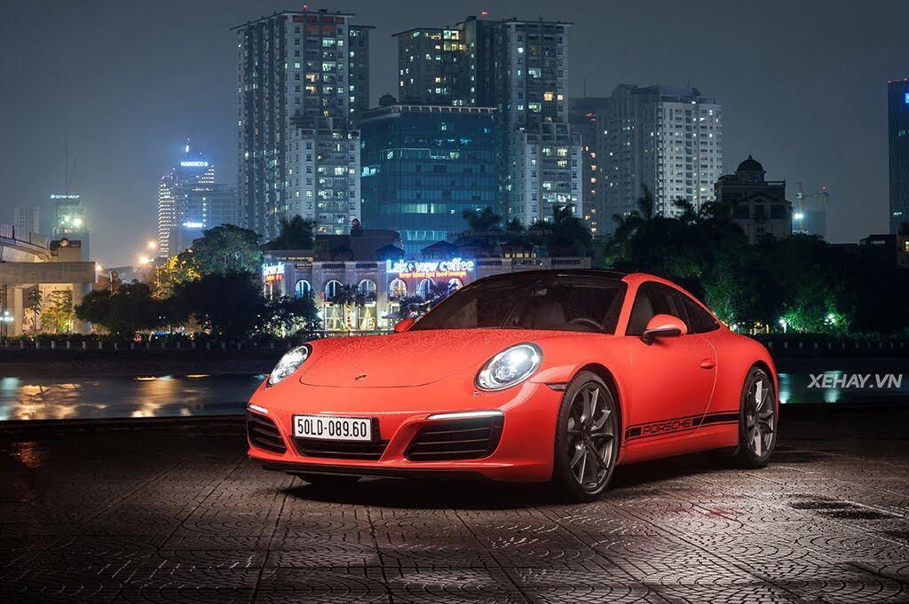 Porsche 911 Carrera 2017 - Biểu tượng bất diệt - Hình 10