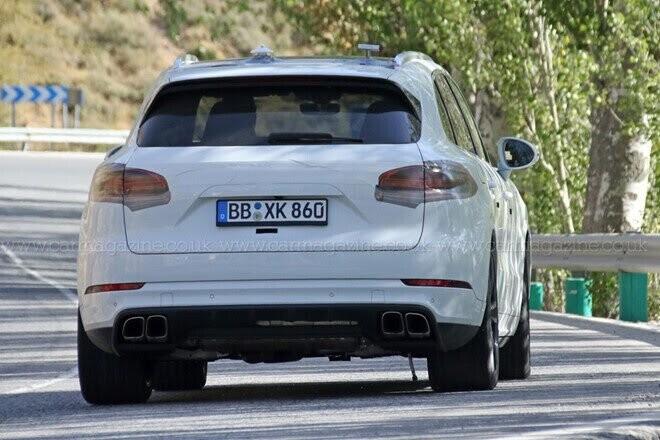Porsche Cayenne 2017 lộ diện trên đường thử - Hình 3