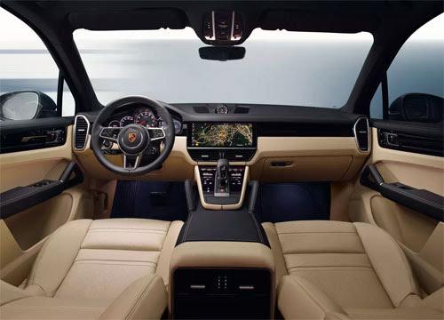 Porsche Cayenne 2018 bỏ nút bấm, thêm cảm ứng - Hình 2