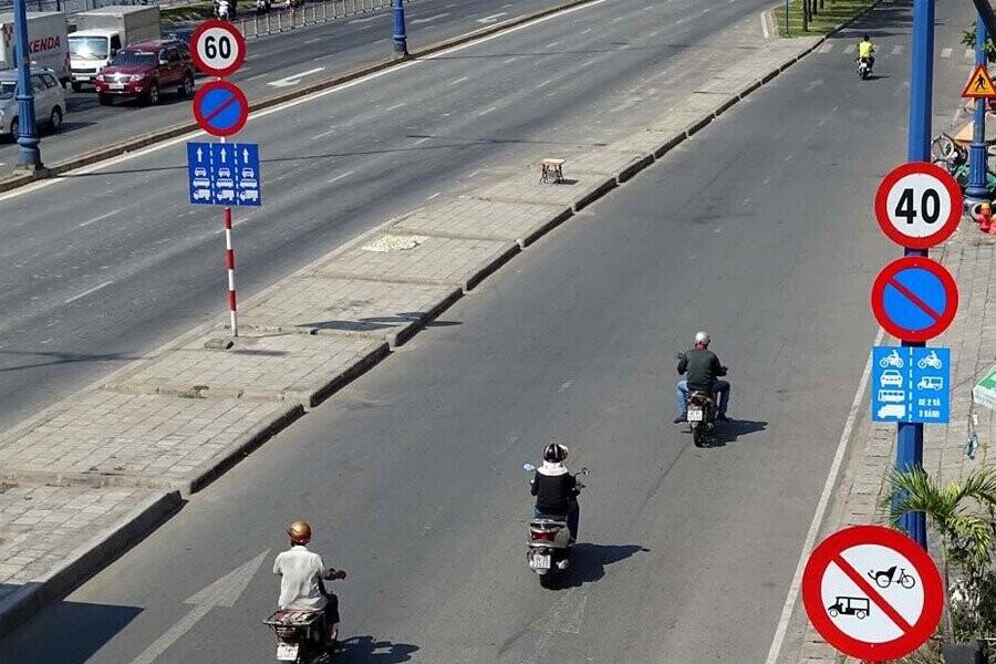 Xử phạt đối với các phương tiện xe cơ giới chạy quá tốc độ quy định