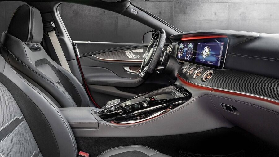 Ra mắt mẫu Mercedes-AMG GT 43 4-Door Coupe sử dụng động cơ 6 xi-lanh thẳng hàng - Hình 3