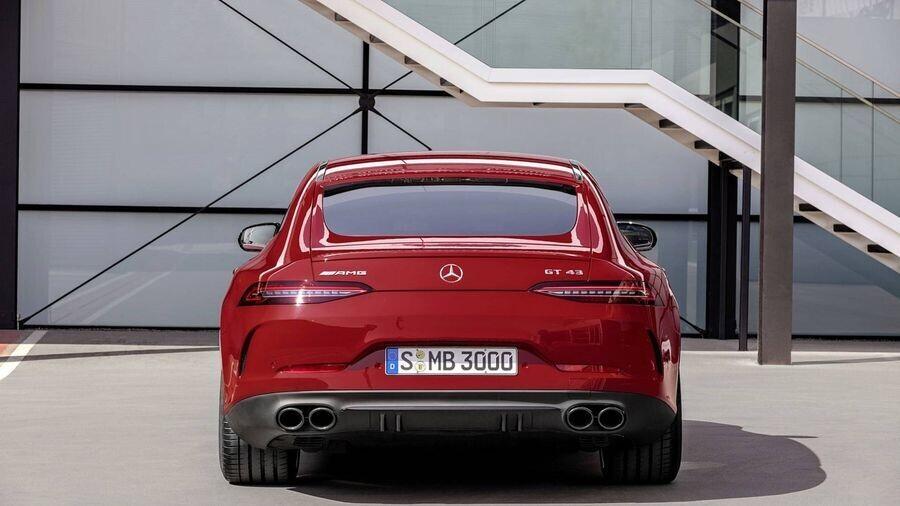 Ra mắt mẫu Mercedes-AMG GT 43 4-Door Coupe sử dụng động cơ 6 xi-lanh thẳng hàng - Hình 5