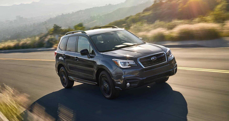 Ra mắt Subaru Forester 2018 phiên bản màu đen đặc biệt - Hình 1