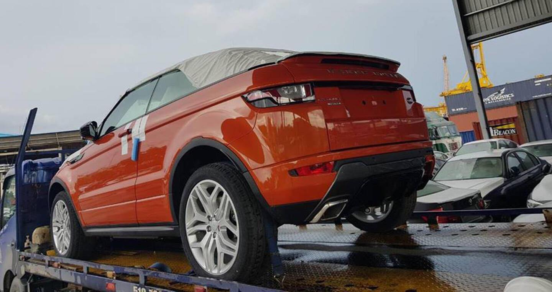 Range Rover Evoque Convertible 2017 đầu tiên về Việt Nam - Hình 1