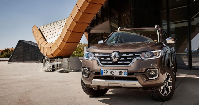 """Renault Alaskan, """"người anh em"""" của Mercedes X-Class, đến trời Âu - Hình 1"""