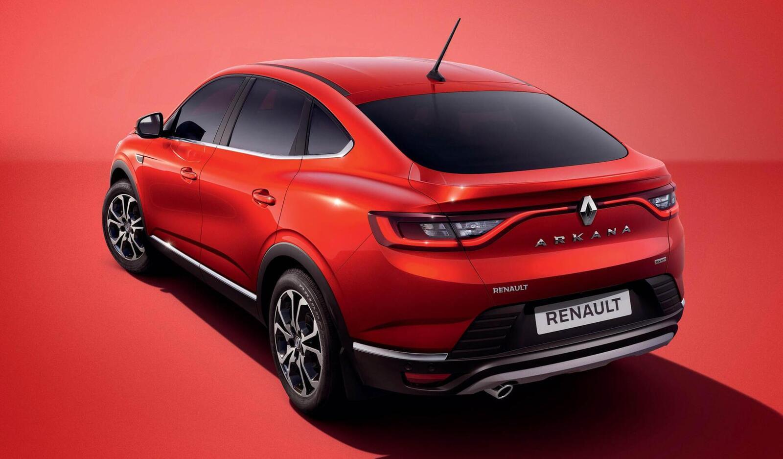 Renault giới thiệu Arkana mới: SUV Coupe mang thiết kế tương tự BMW X6 - Hình 5