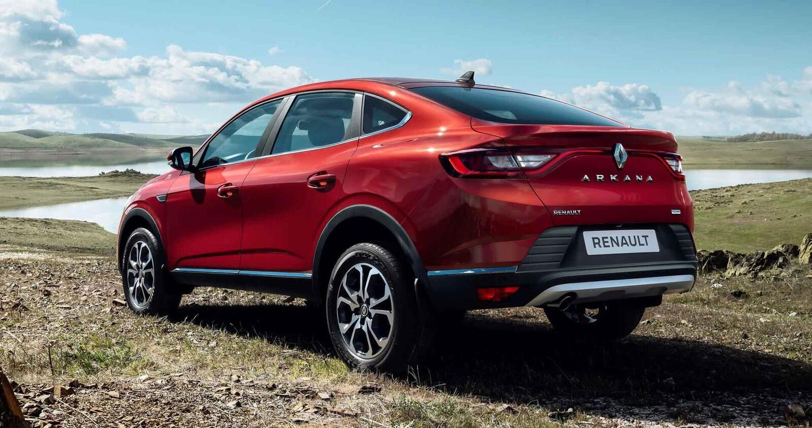 Renault giới thiệu Arkana mới: SUV Coupe mang thiết kế tương tự BMW X6 - Hình 7