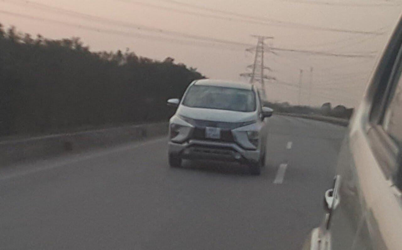 Rò rỉ hình ảnh Mitsubishi Xpander 2018 chạy thử tại Việt Nam - Hình 1