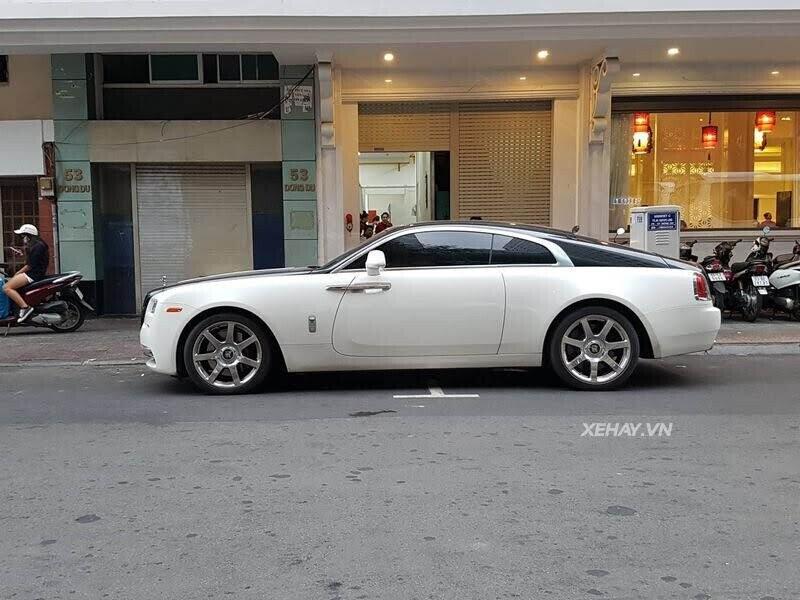 Rolls-Royce Wraith - xế cũ của của ông chủ Trung Nguyên xuống phố với phong cách Panda - Hình 2