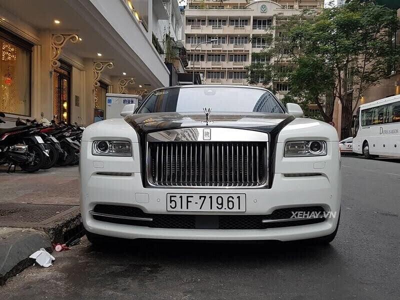 Rolls-Royce Wraith - xế cũ của của ông chủ Trung Nguyên xuống phố với phong cách Panda - Hình 5