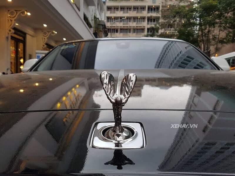 Rolls-Royce Wraith - xế cũ của của ông chủ Trung Nguyên xuống phố với phong cách Panda - Hình 7