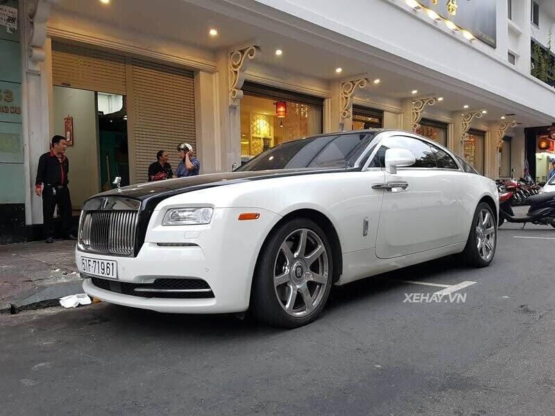 Rolls-Royce Wraith - xế cũ của của ông chủ Trung Nguyên xuống phố với phong cách Panda - Hình 9